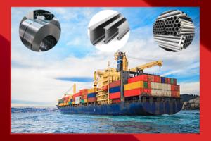 صادرات انواع آهن آلات و ملزومات ساختمانی