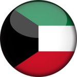 kuwait-flag-3d-round-icon-256